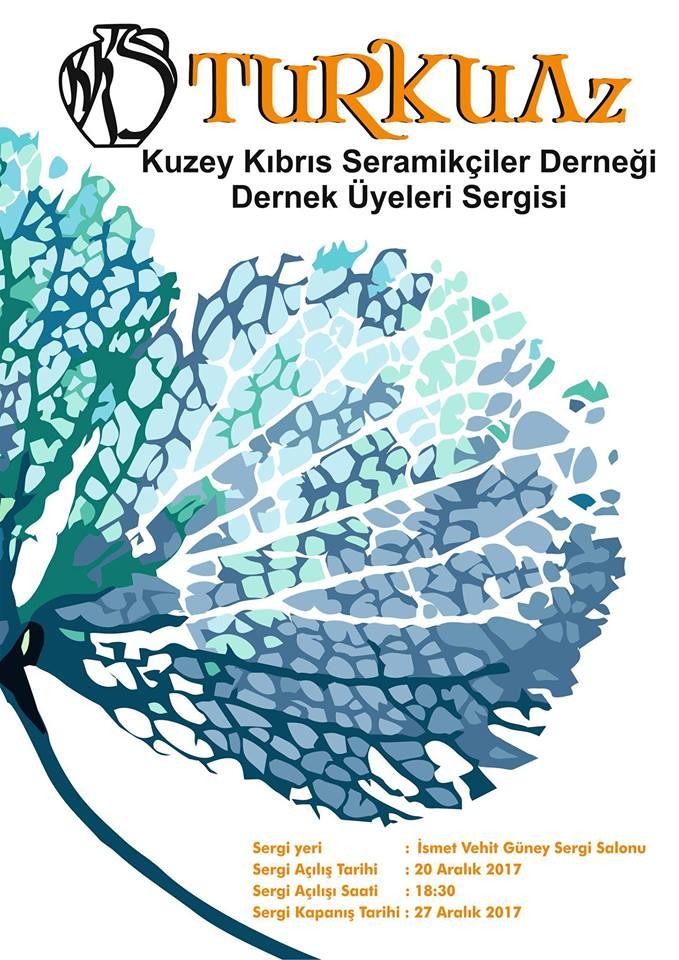 Seramikçiler Derneği 'Turkuaz' sergisi açıyor