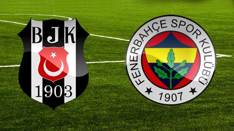 Beşiktaş ve Fenerbahçe'nin kadrosu belli oldu!