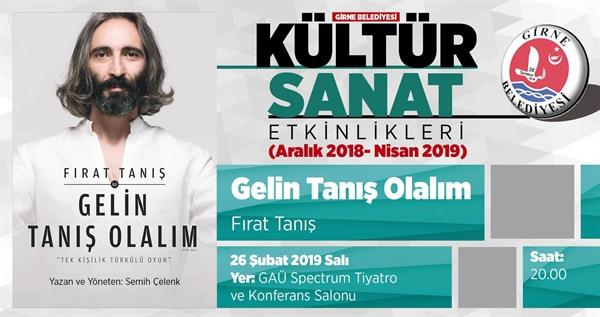 'Gelin Tanış Olalım' yarın akşam Girne'de