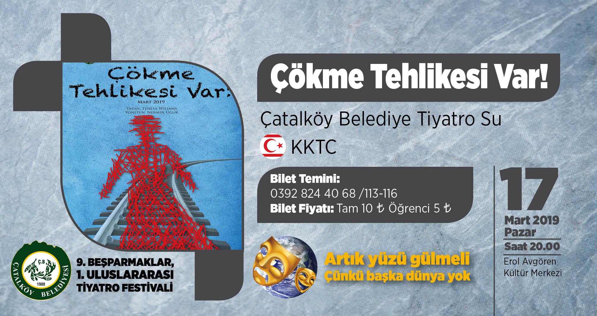 Çatalköy'de 'Çökme Tehlikesi Var!'