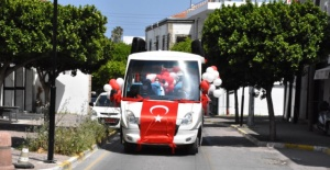 Girne'de 23 Nisan coşkusu