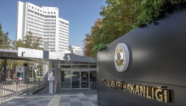 Dışişleri Bakanlığı'ndan Yunanistan'a Ayasofya Tepkisi