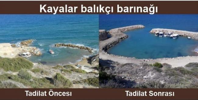 Tatar Kayalar Balıkçı Barınağının Tadilat Sonrası Açılışını Yaptı