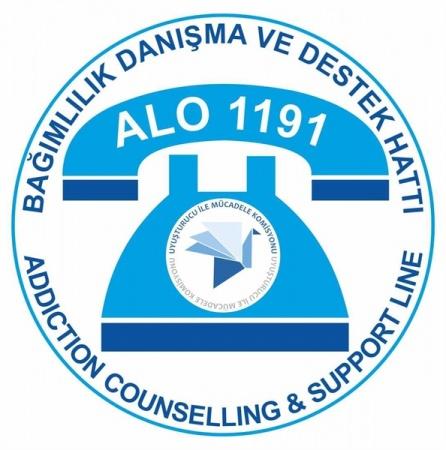 UMK Bünyesinde Oluşturulan Alo 1191 Bağımlılık Danışma ve Destek Hattı'na Bir Yılda 793 Başvuru Yapıldı