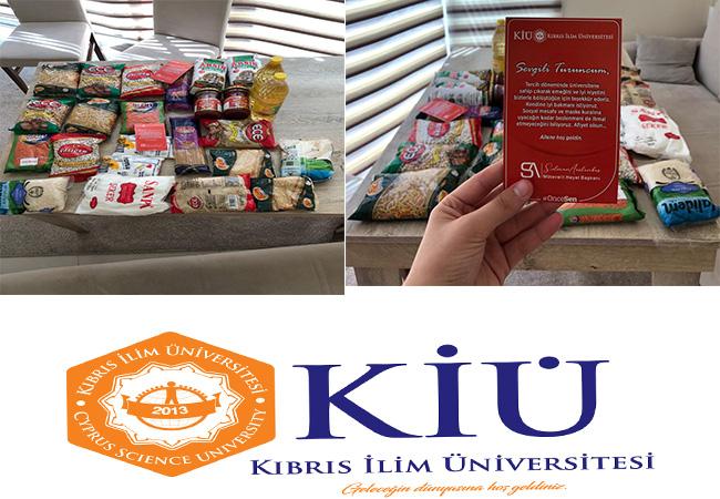 """Kıbrıs İlim Üniversitesi'nde öğrencilerine """"Hoş Geldiniz"""" sürprizi"""