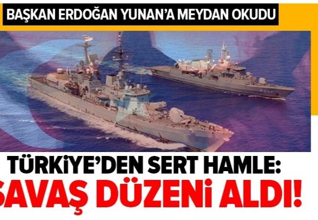 Türkiye Akdeniz'de savaş düzeni aldı