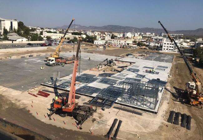 Acil Durum Hastanesi İnşaatı Son Sürat Devam Ediyor