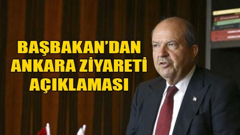 Başbakan Tatar: Ankara ziyareti çözüm bekleyen konular içindi