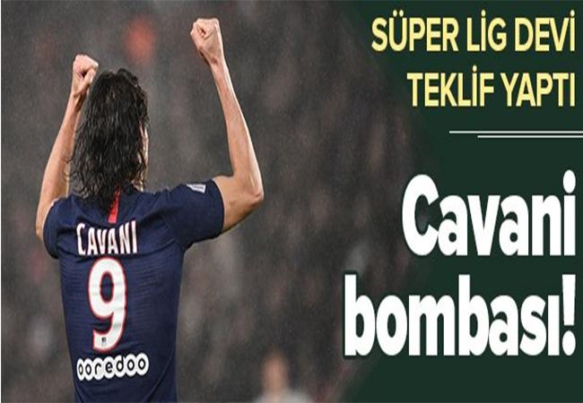 Cavani bombası! 5 milyon Euro önerildi.