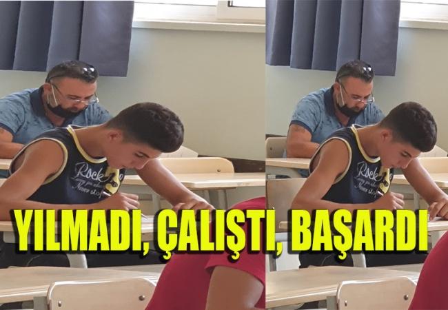 Kozanköy Muhtarı Azmiyle Gençlere Taş Çıkarttı