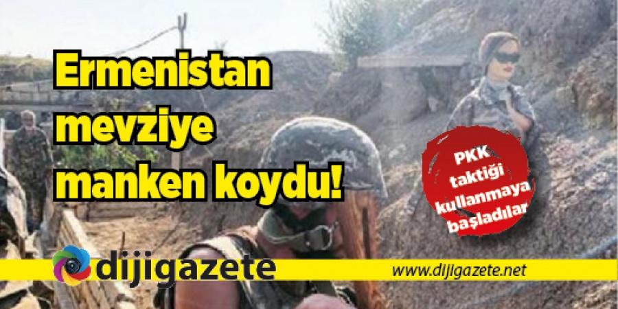 Ermenistan PKK taktiği kullanmaya başladı!