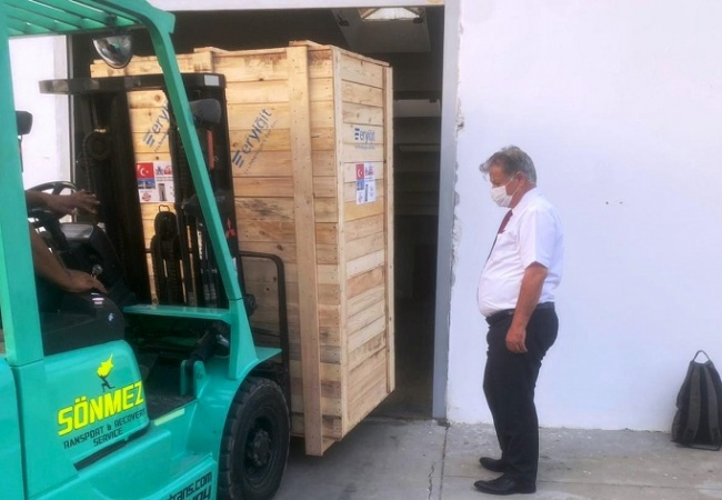 Sağlık Bakanlığı Acil Durum Hastanesi için gerekli tüm iç donanım ve malzemelerin ülkeye ulaştığını açıkladı