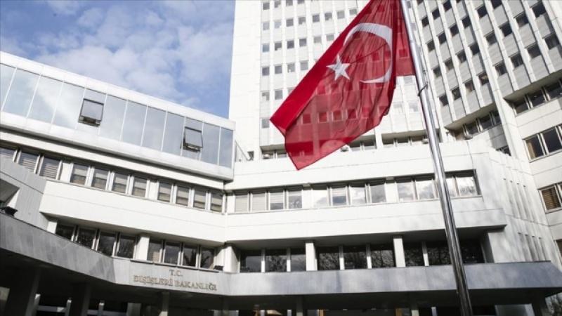 TC Dışişleri: Oruç Reis'in faaliyeti tamamen Türk kıta sahanlığı içinde