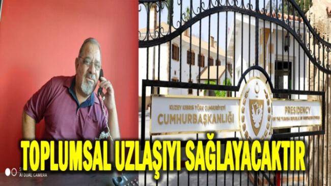 UBP Taşkınköy Örgüt Başkanı Cemal Esemen tebrik mesajı yayımladı
