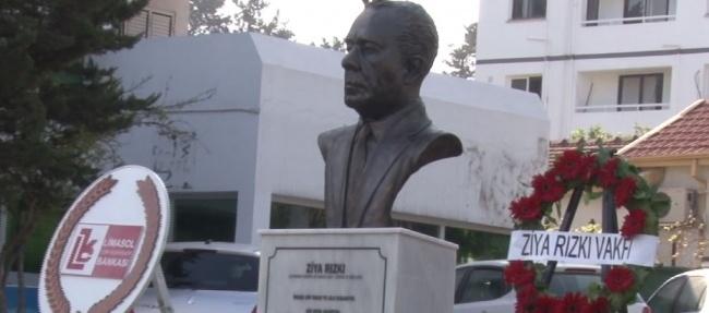 Ziya Rızkı, 26.ölüm yıldönümünde iki ayrı törenle anıldı