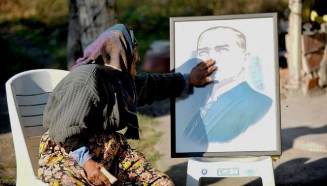 120 yaşındaki Fatma nine, Atatürk'le diyaloğunu anlattı