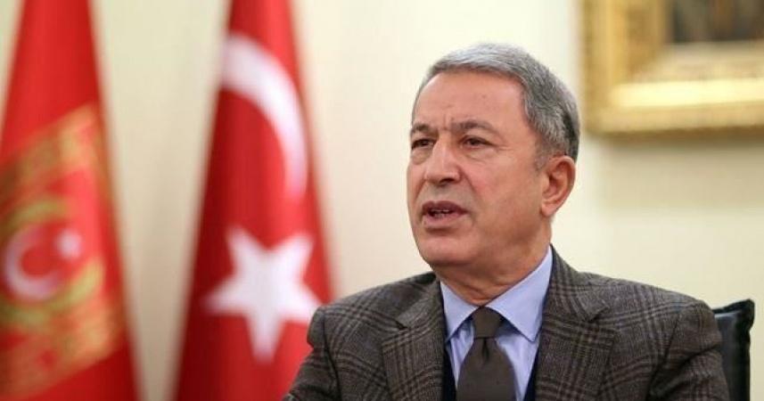 TC Milli Savunma Bakanı Akar:Kıbrıs Türkü'nün hakkı yok sayılamaz