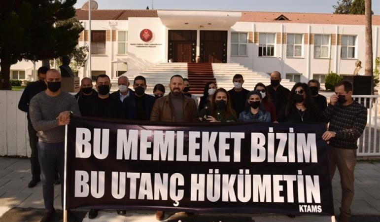 KTAMS'tan Özgürgün için protesto