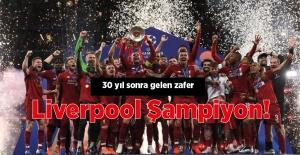 Liverpool şampiyon!