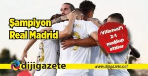 Real Madrid şampiyon!