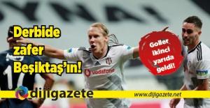 Son derbinin galibi Beşiktaş: 2-0