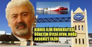 """KİÜ Mühendislik Dekanı Prof.Dr. Atun: """"Adaların kıta sahanlığı hakları yok"""""""