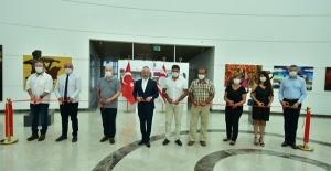 Türk Dünyasından 40 Sanatçının Eserleri YDÜ'de Sergileniyor