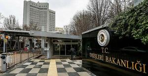 TC Dışişleri Bakanlığı'ndan Avrupa Parlamentosu'na Doğu Akdeniz tepkisi