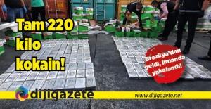 220 kilo kokain!