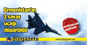 Azerbaycan: Ermenistan'a ait iki SU-25 düşürüldü