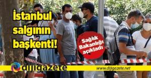 İstanbul, salgının başkenti oldu
