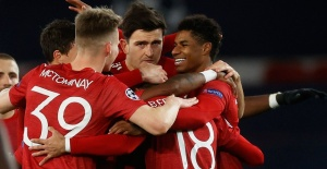 United, Leipzig'i sahadan sildi