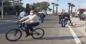 Büyükelçi Ali Murat Başçeri, Maraş'ı ziyaret ederek, bisiklet turuna katıldı