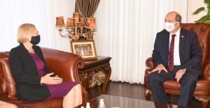 Cumhurbaşkanı Ersin Tatar, Spehar...