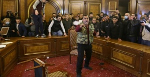 Ermenistan'da Paşinyan protestoları