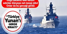Türkiye Doğu Akdeniz'de Yunanistan'ı geride bıraktı!.